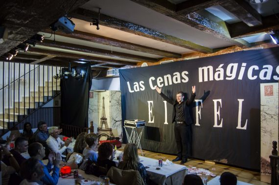Cenas magicas Restaurante Eiffel